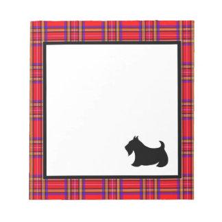 Scottish Terrier Notepad