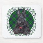 Scottish Terrier on Tartan Mouse Pad