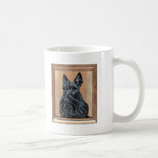 Scottish Terrier Painting Classic White Coffee Mug