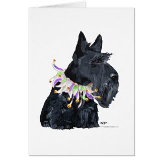 Scottish Terrier Party Animal Card