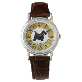 Scottish Terrier Personalize Watches