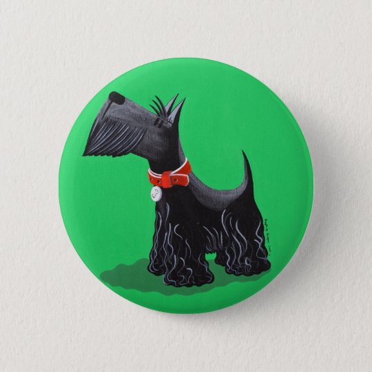 Scottish Terrier Pinback Button