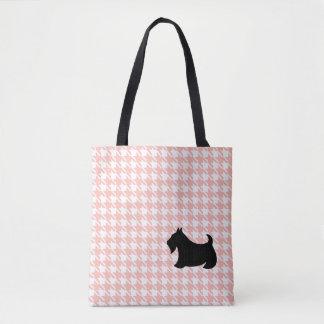 Scottish Terrier Pink Tote Tote Bag