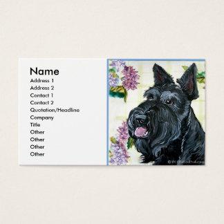 Scottish Terrier Portrait Business Card