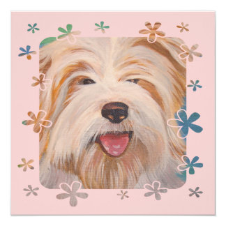 Scottish Terrier Portrait Card