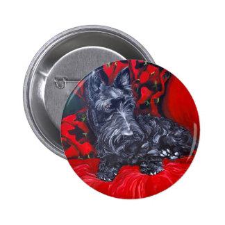 Scottish Terrier Portrait Haggis Buttons
