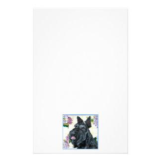 Scottish Terrier Portrait Stationery