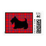 Scottish Terrier Postage Stamp