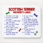 SCOTTISH TERRIER Property Laws 2 Mouse Pad