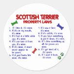 SCOTTISH TERRIER Property Laws 2 Sticker
