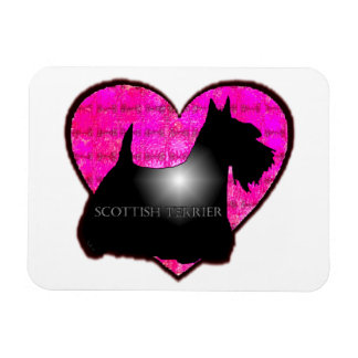 Scottish Terrier Rectangular Photo Magnet