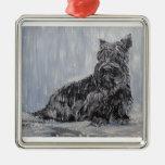 Scottish Terrier Rescue Ornaments