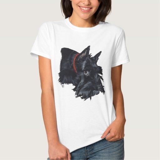 Scottish Terrier Resting T-shirts