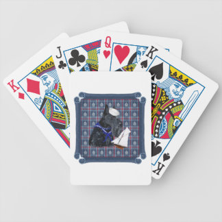 Scottish Terrier Sailor Bicycle Poker Cards