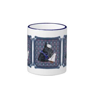 Scottish Terrier Sailor Coffee Mug