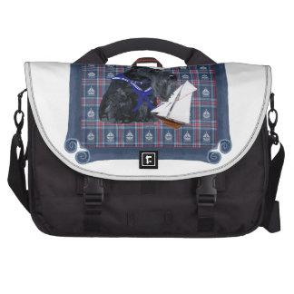 Scottish Terrier Sailor Commuter Bag