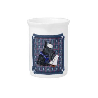 Scottish Terrier Sailor Drink Pitcher