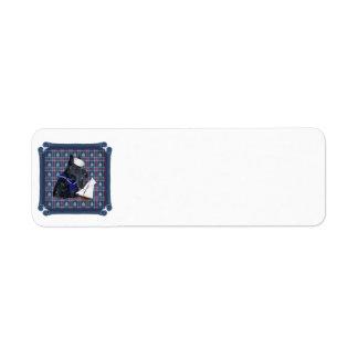 Scottish Terrier Sailor Custom Return Address Label