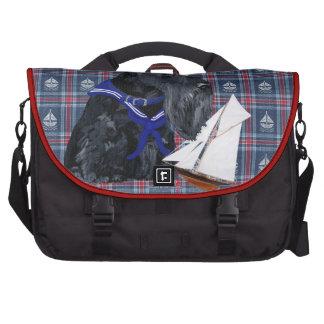 Scottish Terrier Sailor Laptop Bag