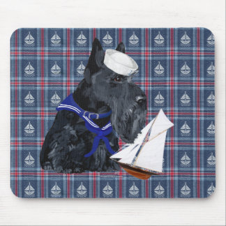 Scottish Terrier Sailor Mouse Pad
