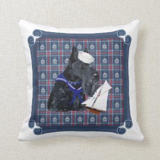 Scottish Terrier Sailor Pillows