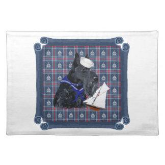 Scottish Terrier Sailor Placemats