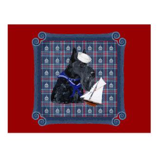 Scottish Terrier Sailor Post Cards