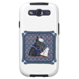 Scottish Terrier Sailor Samsung Galaxy S3 Cover