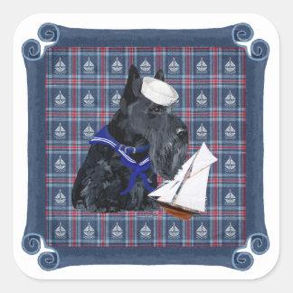Scottish Terrier Sailor Sticker