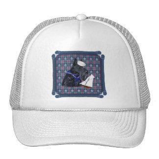 Scottish Terrier Sailor Trucker Hat