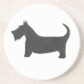 Scottish Terrier Sandstone Coaster