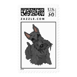Scottish Terrier Scottie Postage