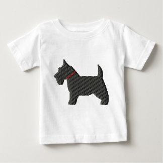 Scottish Terrier  Silloette Infant T-shirt