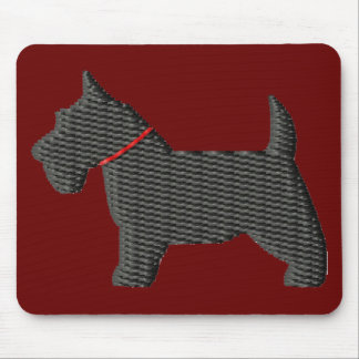 Scottish Terrier  Silloette Mouse Pad