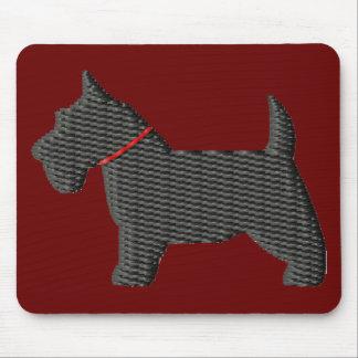 Scottish Terrier  Silloette Mouse Pad