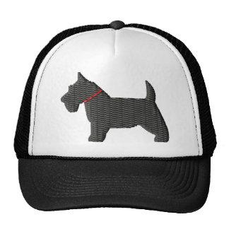 Scottish Terrier  Silloette Trucker Hat