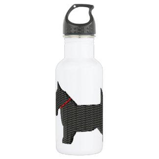 Scottish Terrier  Silloette Water Bottle