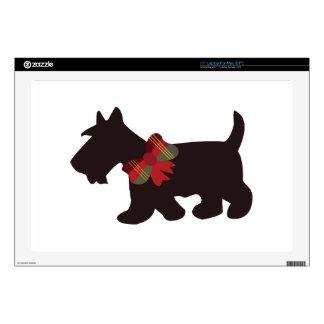 """Scottish Terrier Skins For 17"""" Laptops"""