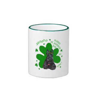Scottish Terrier St. Paddys Day Coffee Mugs