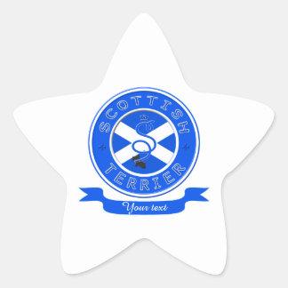 Scottish Terrier Star Sticker