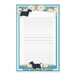 Scottish Terrier Custom Stationery