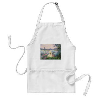 Scottish Terrier (W5) - By the Seine Adult Apron