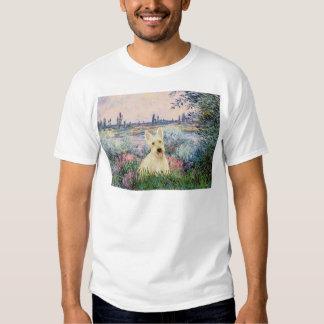 Scottish Terrier (W5) - By the Seine Tee Shirts