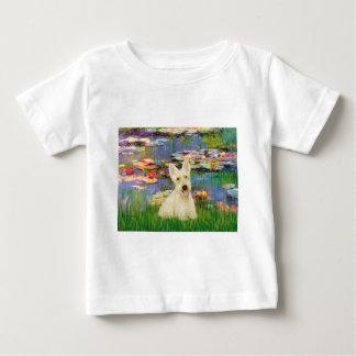 Scottish Terrier (W5) - Lilies 2 Tee Shirts