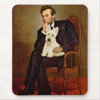 Scottish Terrier (W5) - Lincoln Mouse Pad