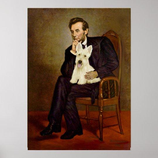 Scottish Terrier (W5) - Lincoln Poster