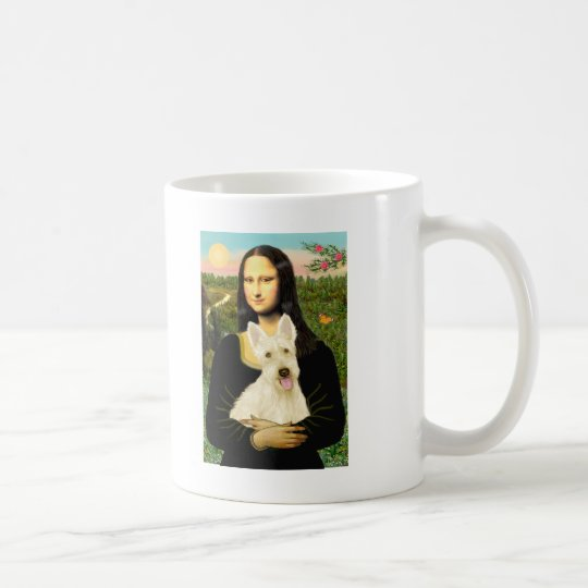 Scottish Terrier (W5) - MonaLisa Coffee Mug