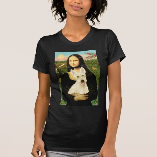Scottish Terrier (W5) - MonaLisa Tee Shirts