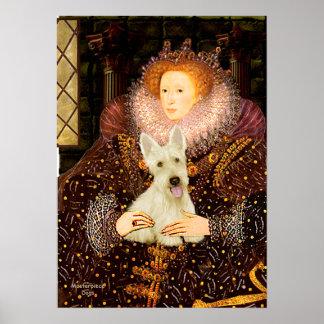 Scottish Terrier (W5) - Queen Print