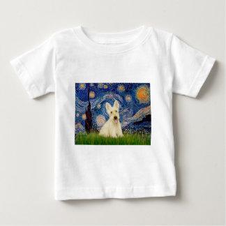 Scottish Terrier (W5) - Starry Night Tshirt